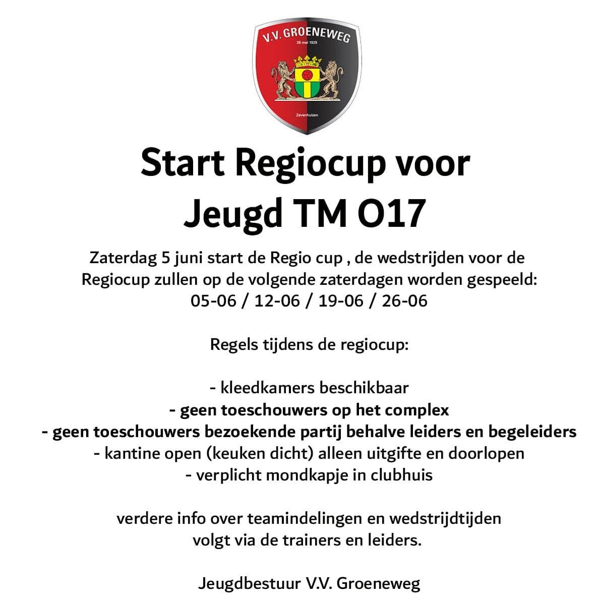Start Regiocup