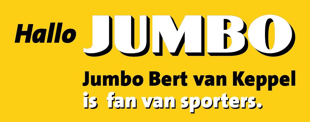 Jumbo Bert van Keppel wedstrijdbal sponsor