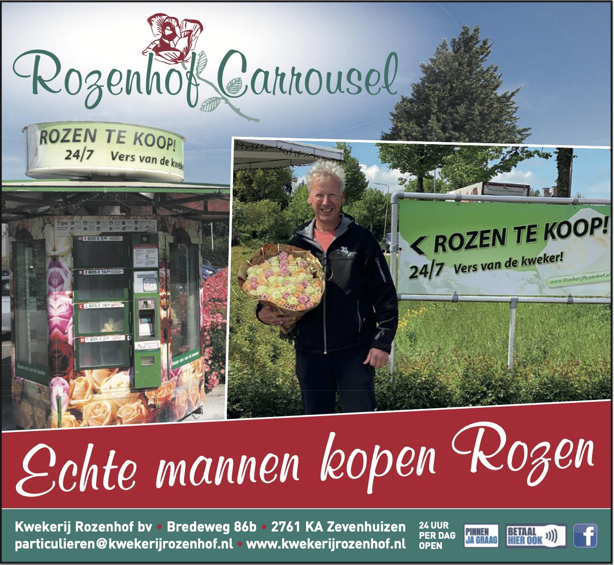 Sponsor belicht: Rozenhof Carrousel