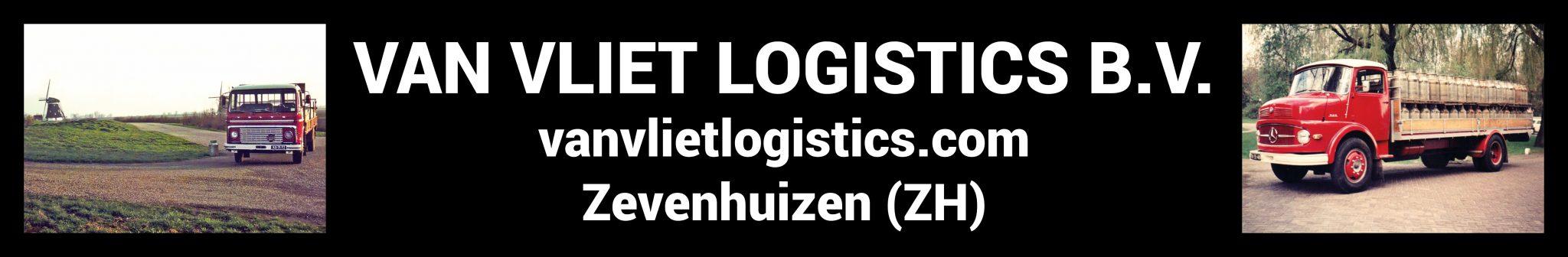Van Vliet Logistics wedstrijdbal sponsor